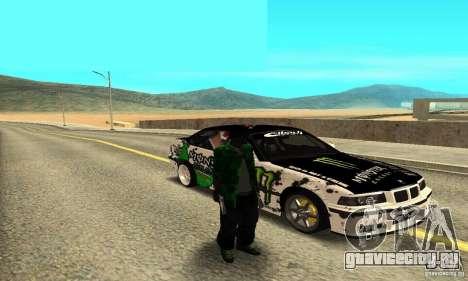 BMW E36 Drift для GTA San Andreas вид справа