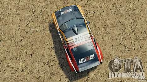 Mitsubishi Pajero Evolution MPR11 для GTA 4 вид справа