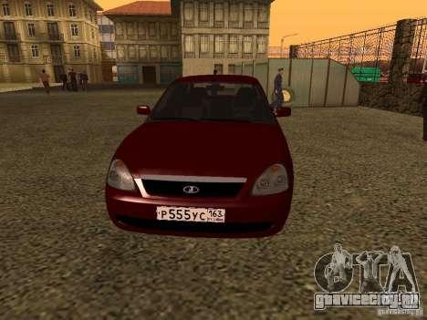 ВАЗ 2170 Премьер для GTA San Andreas вид слева