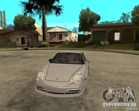 Porsche GT3 для GTA San Andreas вид сзади
