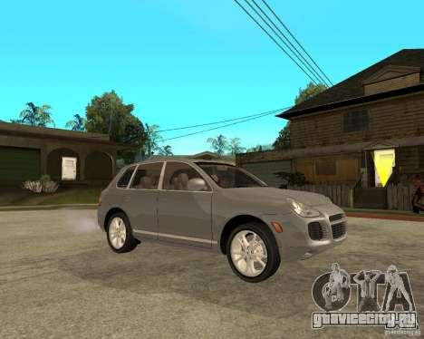 Porsche Cayenne Turbo для GTA San Andreas вид справа