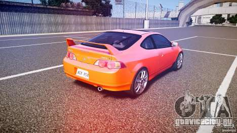 Acura RSX TypeS v1.0 stock для GTA 4 вид сбоку