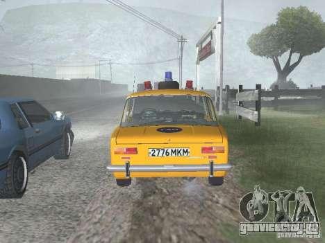 ВАЗ 21016 ГАИ для GTA San Andreas вид справа