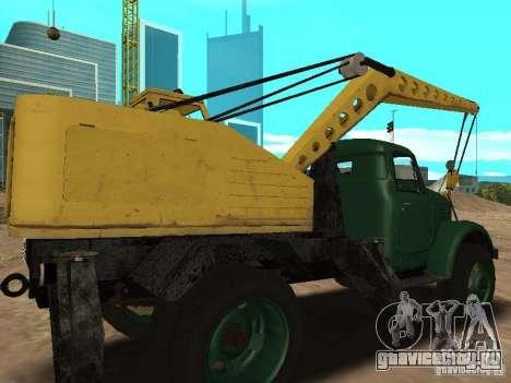 ГАЗ 51 Автокран для GTA San Andreas вид справа