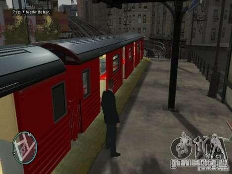 Поезд Redbird v1.0 для GTA 4 третий скриншот