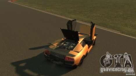 Lamborghini Murcielago VS LP 670 FINAL для GTA 4 вид сверху