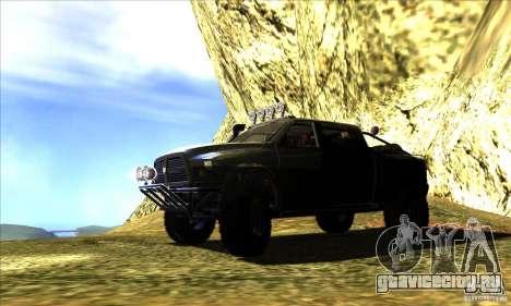 Dodge Ram All Terrain Carryer для GTA San Andreas вид слева