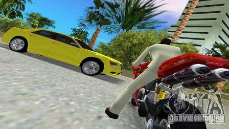 Lancia Nuova Thema для GTA Vice City вид изнутри