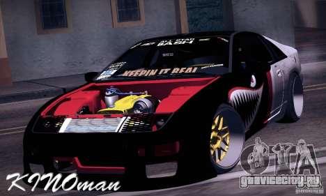Nissan 300ZX Z32 для GTA San Andreas вид сзади слева