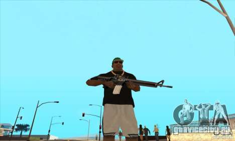 WEAPON BY SWORD для GTA San Andreas третий скриншот