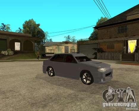 ВАЗ 2115 MCC для GTA San Andreas вид справа