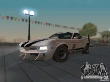 SPEEDEVIL from FlatOut 2 для GTA San Andreas вид изнутри