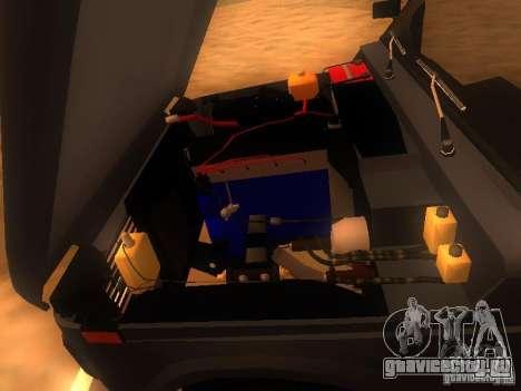 ВАЗ-2131 НИВА для GTA San Andreas вид изнутри