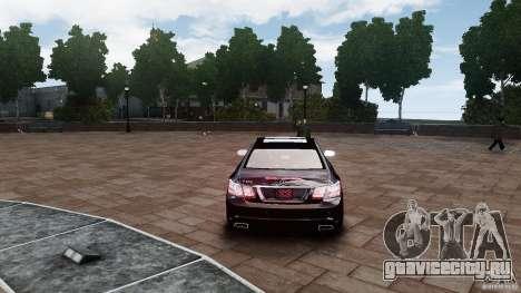 Mercedes Benz E500 Coupe для GTA 4 вид справа