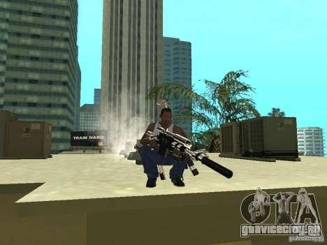 Weapons Pack для GTA San Andreas пятый скриншот