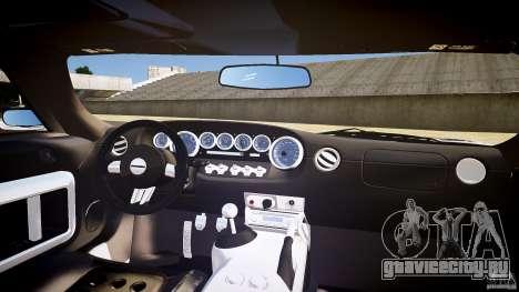 Ford GT1000 2006 Hennessey [EPM] STREET BURNING для GTA 4 вид сверху
