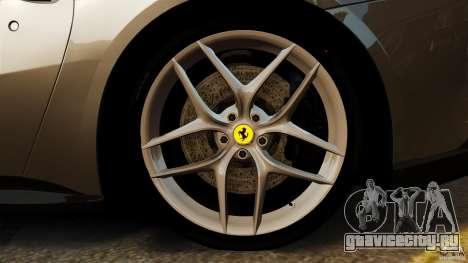 Ferrari F12 Berlinetta 2013 Stock для GTA 4 вид сверху