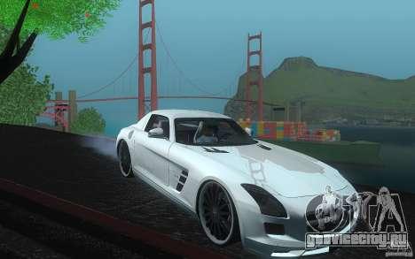 Mercedes Benz SLS HAMANN для GTA San Andreas