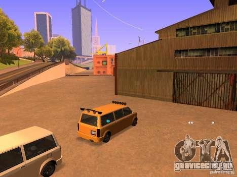 Moonbeam NN для GTA San Andreas вид сбоку