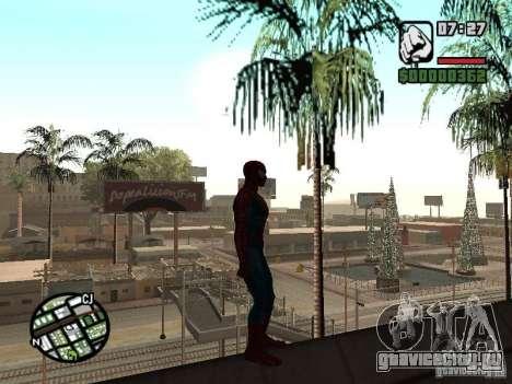 Spider Man From Movie для GTA San Andreas шестой скриншот