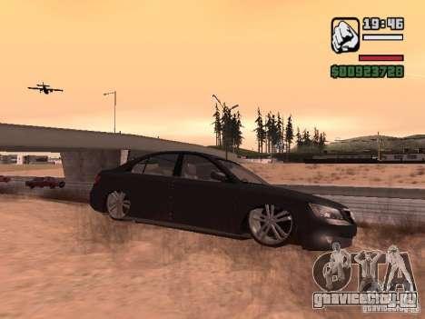 Hyundai Sonata Edit для GTA San Andreas вид слева
