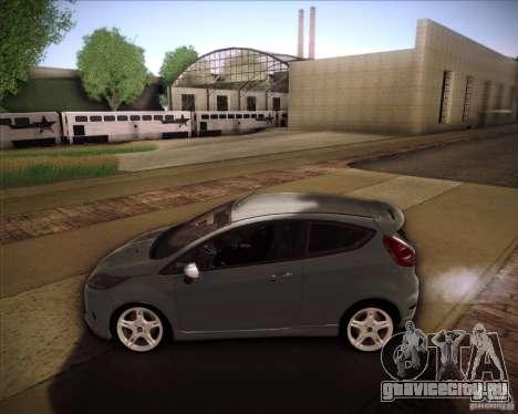 Ford Fiesta Zetec S 2010 для GTA San Andreas вид слева