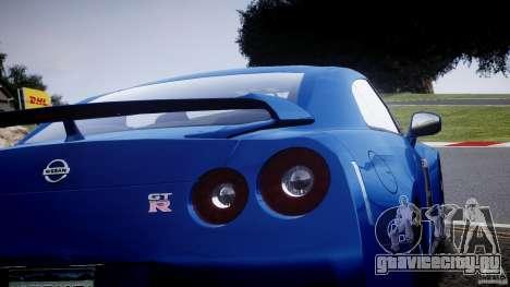 Nissan GT-R R35 2010 v1.3 для GTA 4 вид сбоку