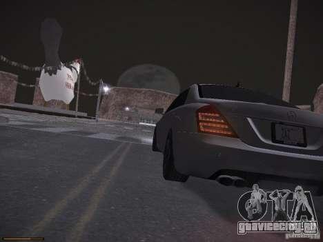 Mercedes Benz S65 AMG 2012 для GTA San Andreas