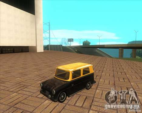 VW Typ 147 - Fridolin для GTA San Andreas