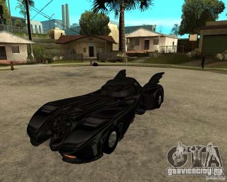 Batmobile для GTA San Andreas