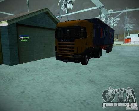 Scania 164L для GTA San Andreas