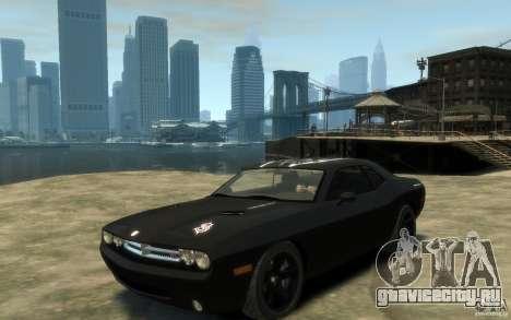 Dodge Challenger Concept Slipknot Edition для GTA 4