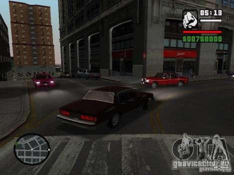 Chevrolet Caprice Classic 87 для GTA San Andreas вид слева