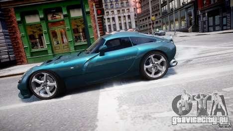 TVR Sagaris для GTA 4 вид слева