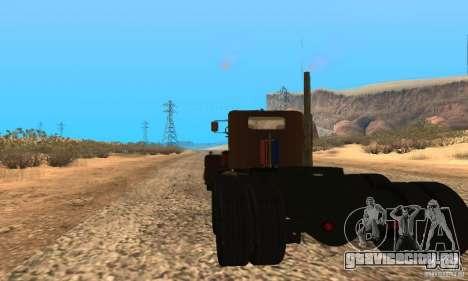 Duel Peterbilt для GTA San Andreas вид слева