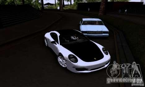 Porsche 911 Carrera S для GTA San Andreas вид справа