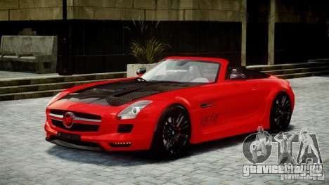 Mercedes-Benz SLS Roadster 2012 HAMANN HAWK AMG для GTA 4