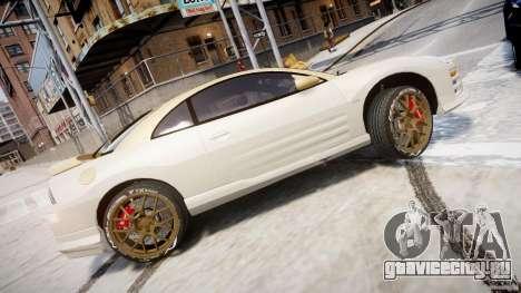 Mitsubishi Eclipse GTS Coupe для GTA 4 вид слева