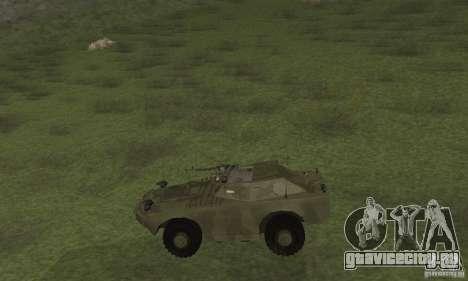 БРДМ-1 Скин 3 для GTA San Andreas вид сзади слева
