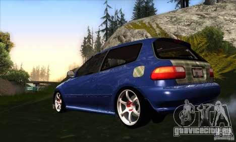 Honda Civic EG5 для GTA San Andreas