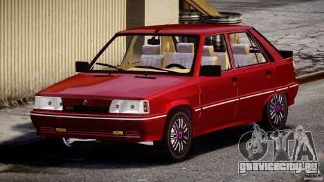 Renault Flash Turbo 11 для GTA 4 вид сзади