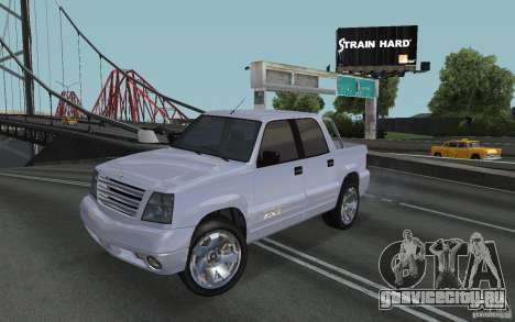Cavalcade FXT из GTA 4 для GTA San Andreas
