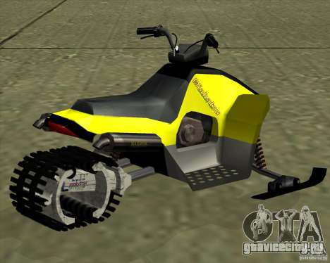 Snowmobile для GTA San Andreas вид слева
