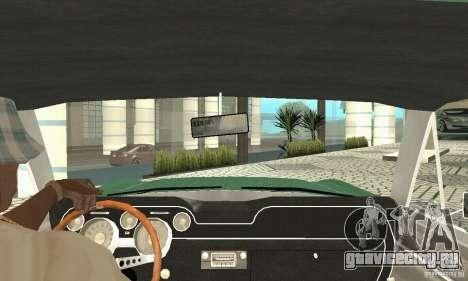 Ford Mustang Fastback 1967 для GTA San Andreas вид сзади