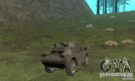 БРДМ-2 Зимний вариант для GTA San Andreas вид слева