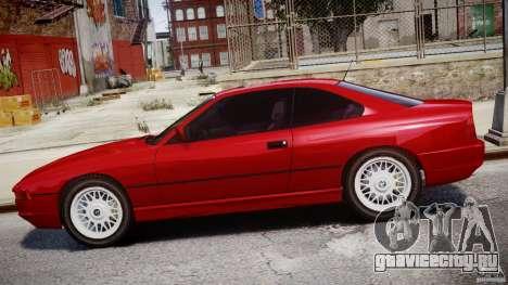 BMW 850i E31 1989-1994 для GTA 4 вид снизу