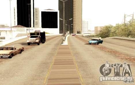 Новый алгоритм трафика автомобилей для GTA San Andreas четвёртый скриншот