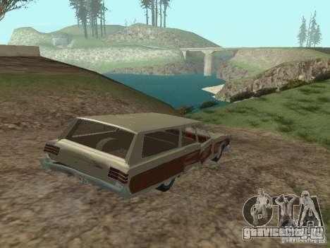 Chrysler Town and Country 1967 для GTA San Andreas вид сбоку