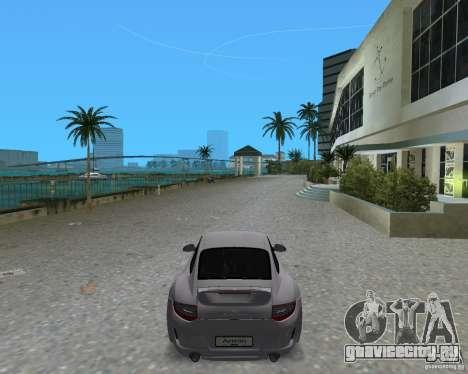 Porsche 911 Sport для GTA Vice City вид сзади слева