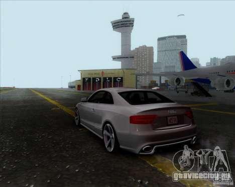 Audi RS5 для GTA San Andreas вид слева